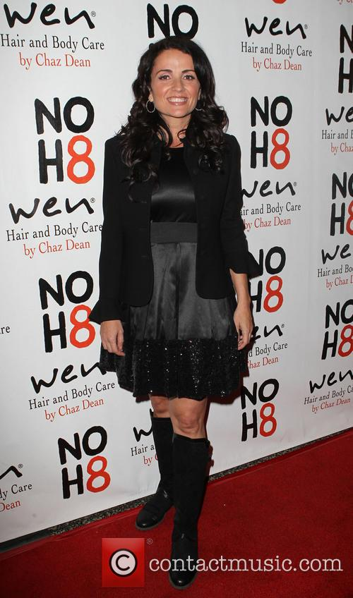 Jenni Pulos NOH8 Celebrity Studded 4th Anniversary Party...