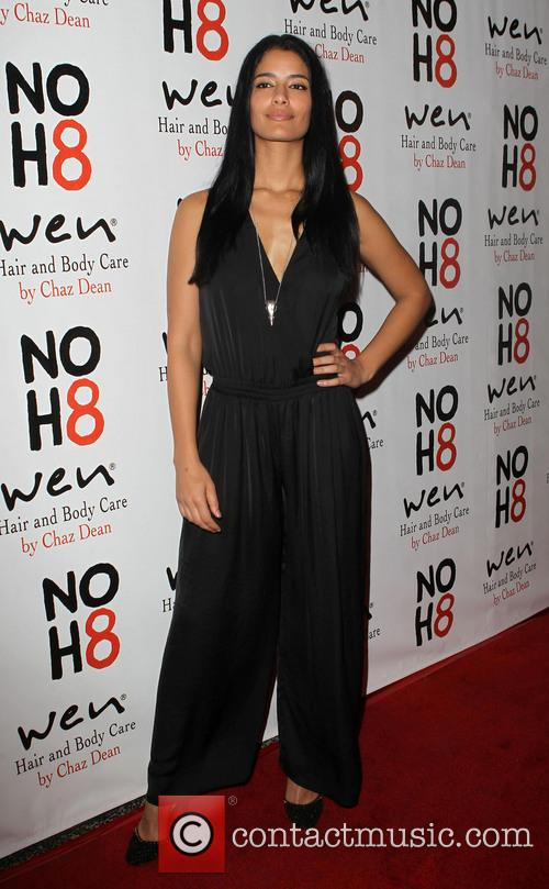 Jessica Clark NOH8 Celebrity Studded 4th Anniversary Party...