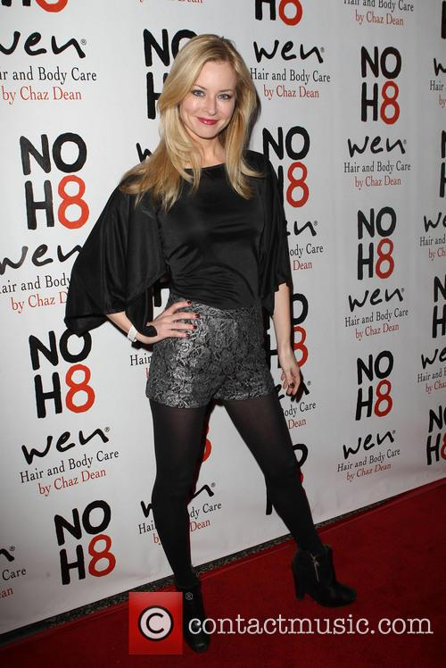Jessica Morris NOH8 Celebrity Studded 4th Anniversary Party...