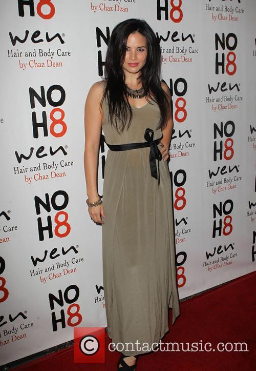 Katrina Law NOH8 Celebrity Studded 4th Anniversary Party...