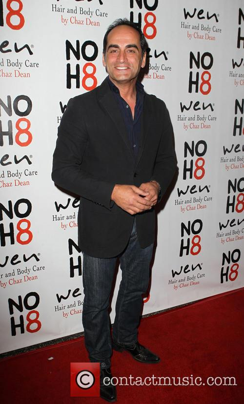 Navid Negahban NOH8 Celebrity Studded 4th Anniversary Party...