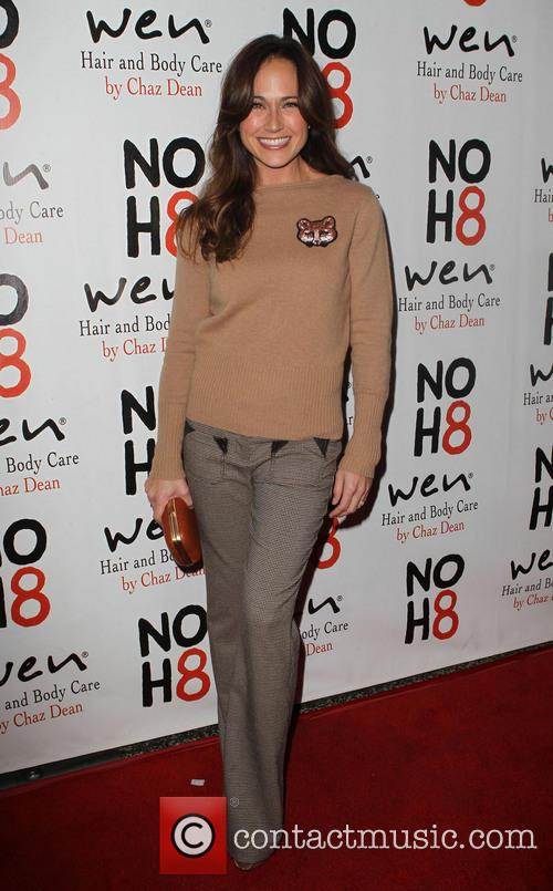 Nikki DeLoach NOH8 Celebrity Studded 4th Anniversary Party...