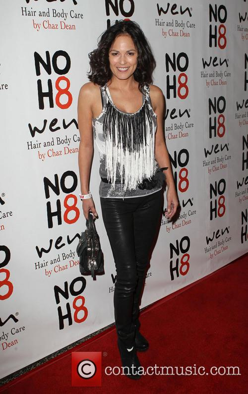 Terri Ivens NOH8 Celebrity Studded 4th Anniversary Party...