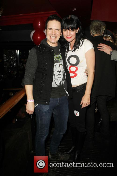 Hal Sparks; Pauley Perrette NOH8 Celebrity Studded 4th...