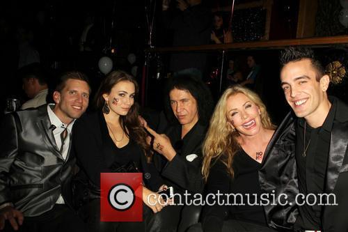 Jeff Parshley; Sophie Simmons; Gene Simmons; Shannon Tweed;...