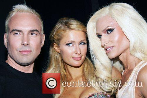 David Blond, Paris Hilton and Phillipe Blond Mercedes-Benz...
