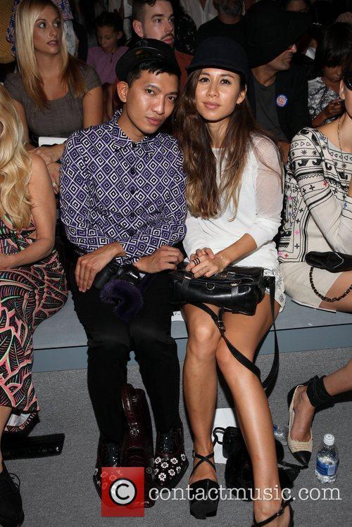 Bryan Boy, Rumi Neely Mercedes-Benz New York Fashion...