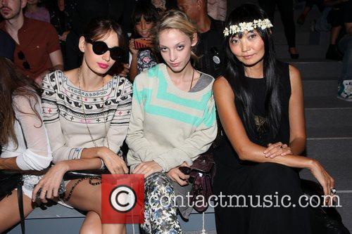 Cory Kennedy, Irina Pantaeva Mercedes-Benz New York Fashion...