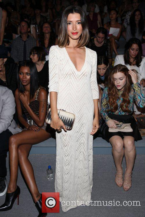 India De Beaufort and New York Fashion Week 4
