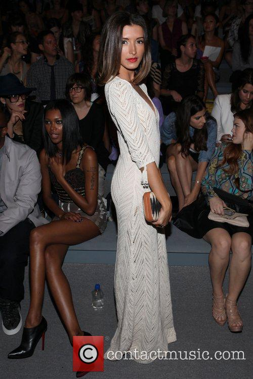 India De Beaufort and New York Fashion Week 5