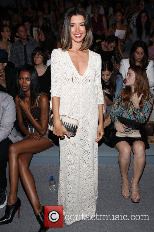 India De Beaufort and New York Fashion Week 1