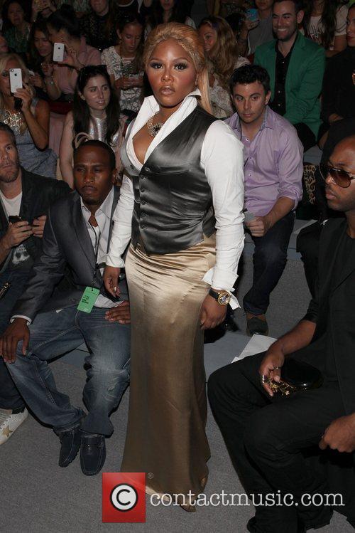 Lil Kim and New York Fashion Week 3