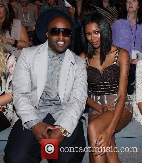 Rico Love, Jessica White Mercedes-Benz New York Fashion...