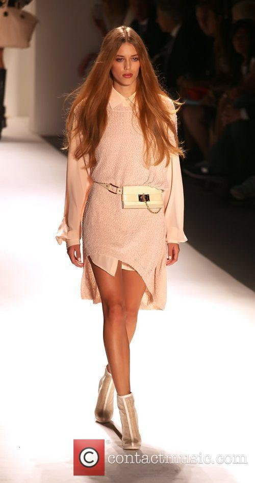 Model, Rachel Zoe and New York Fashion Week 5