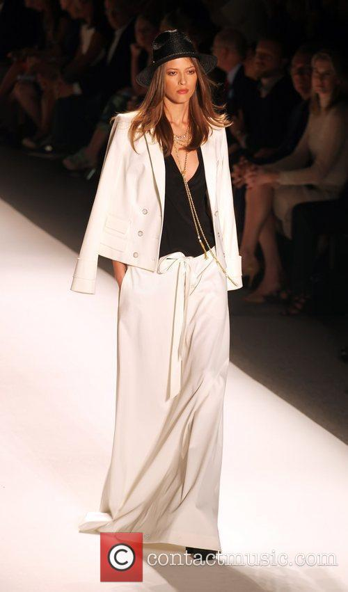 Model, Rachel Zoe and New York Fashion Week 1
