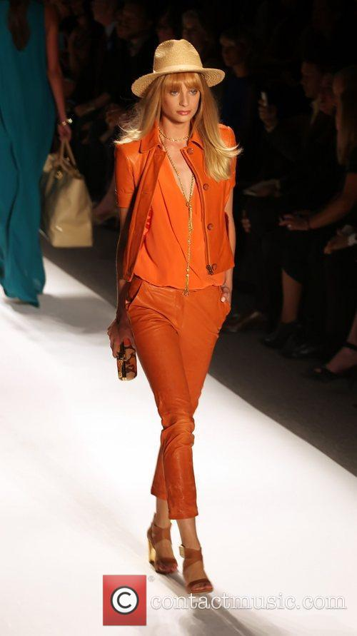 Model, Rachel Zoe and New York Fashion Week 9