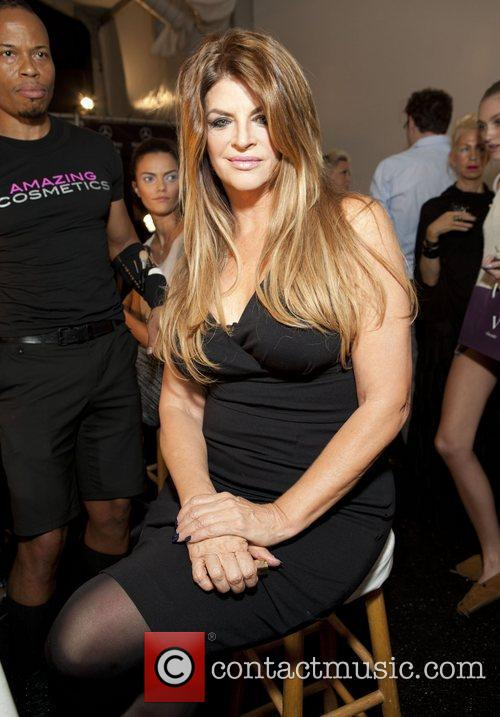 Kirstie Alley and New York Fashion Week 2