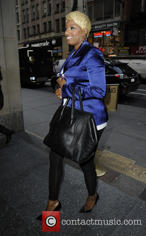 Real Housewives of Atlanta star Nene Leakes arrives...