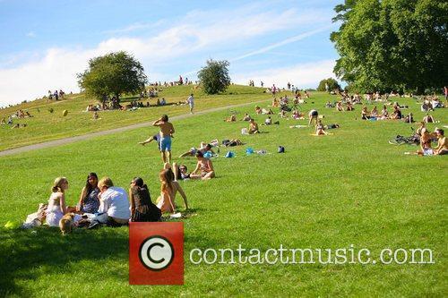 Enjoying the last days of summer in Regents...