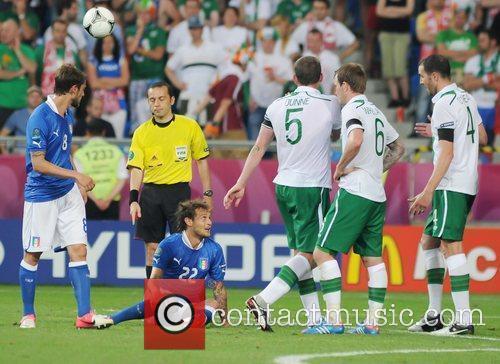 Alessandro Diamanti (Bologna FC) in action for Italy...