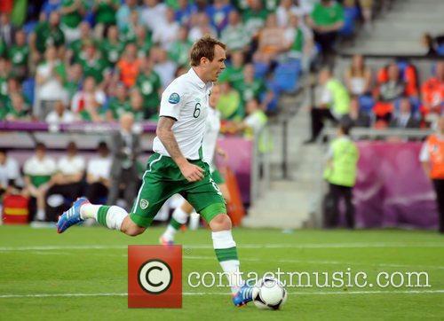 Glenn Whelan (Stoke City FC) in action for...