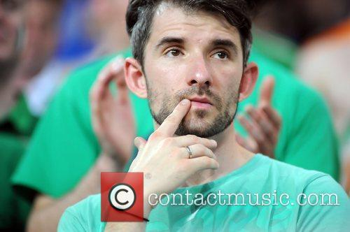 Ireland Fans during the European Championship Group C...