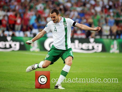 During the European Championship Group C game between...