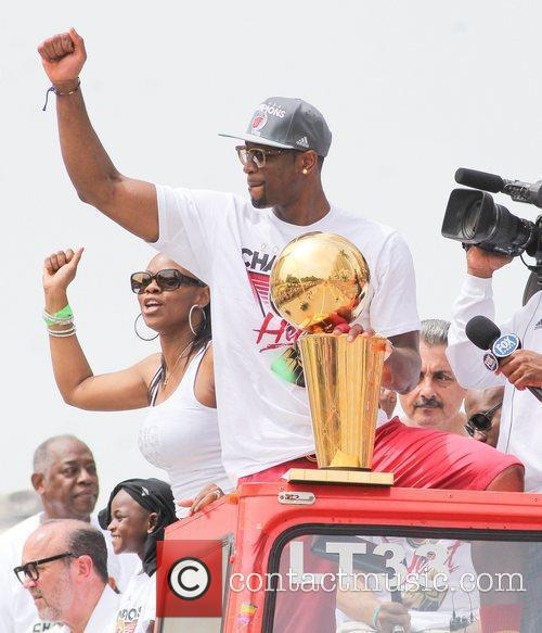 dwyane wade during a miami heat victory 3964025
