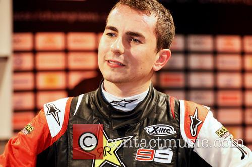 Jorge Lorenzo 2012 Race of Champions at the...