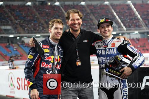jorge Lorenzo 2012 Race of Champions at the...