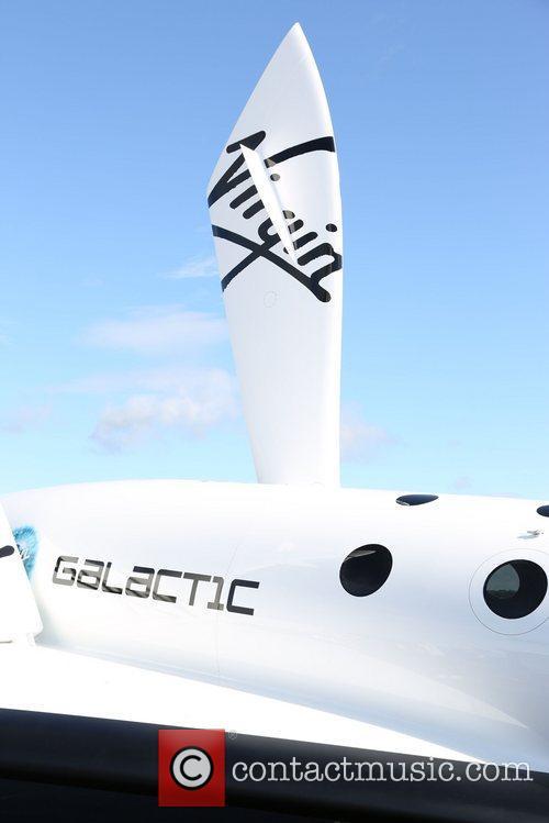 the virgin galactic aircraft at the 2012 3985571