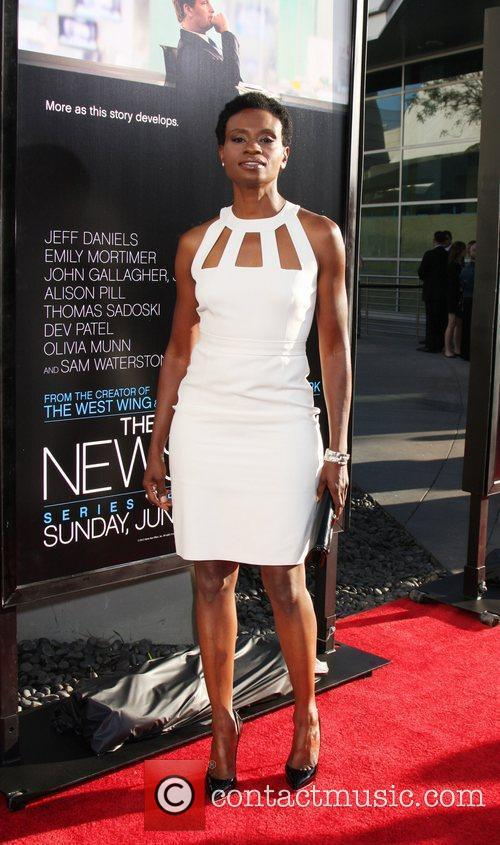 Adina Porter  HBO's The Newsroom Los Angeles...
