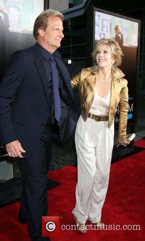 Jeff Daniels and Jane Fonda