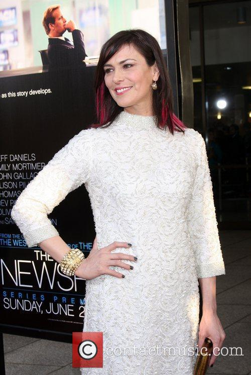 Michelle Forbes  HBO's The Newsroom Los Angeles...