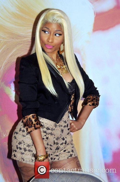 Nicki Minaj attends a album signing for 'Pink...