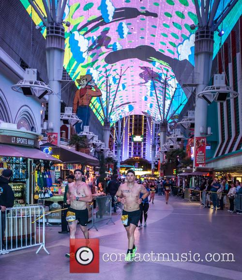 Featuring: Marathon runners
