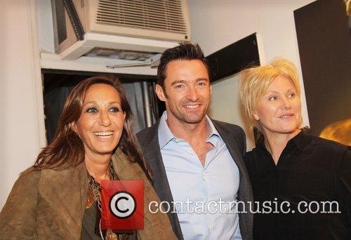 Donna Karan, Deborra-lee Furness and Hugh Jackman 1
