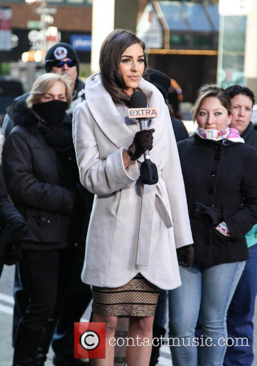 Olivia Culpo and Times Square 5