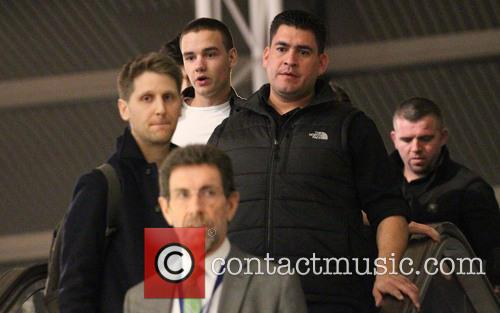 One Direction at Los Angeles International Airport, LAX...
