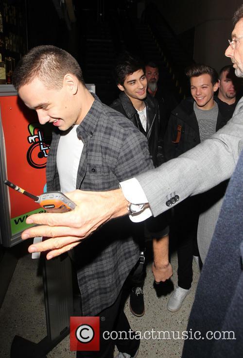 Liam Payne, Zayn Malik and Louis Tomlinson 4