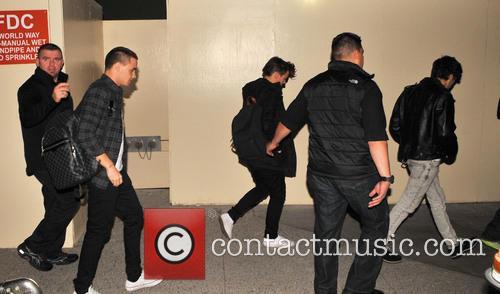 Zayn Malik, Liam Payne and Louis Tomlinson 3