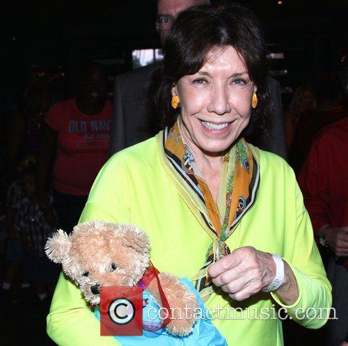 lily tomlin circus paws event at the 4107545