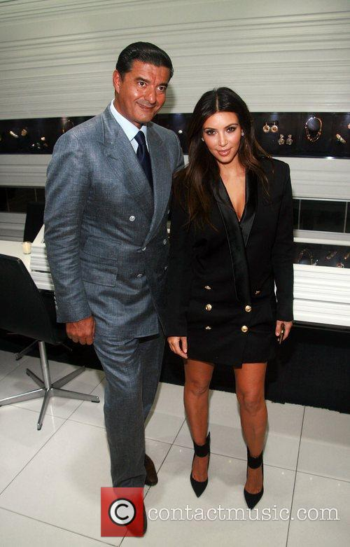 Jacob Arabo and Kim Kardashian attend The Palladium...