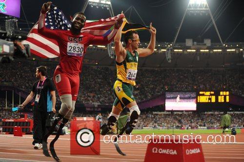 Blake Leeper (USA) wins Silver Men's 400m T44...