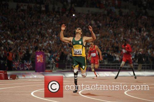 Oscar Pistorius. London Olympics 2012