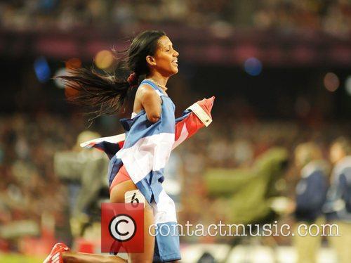 Yunidis Castillo (CUB) wins Gold medal as Sally...