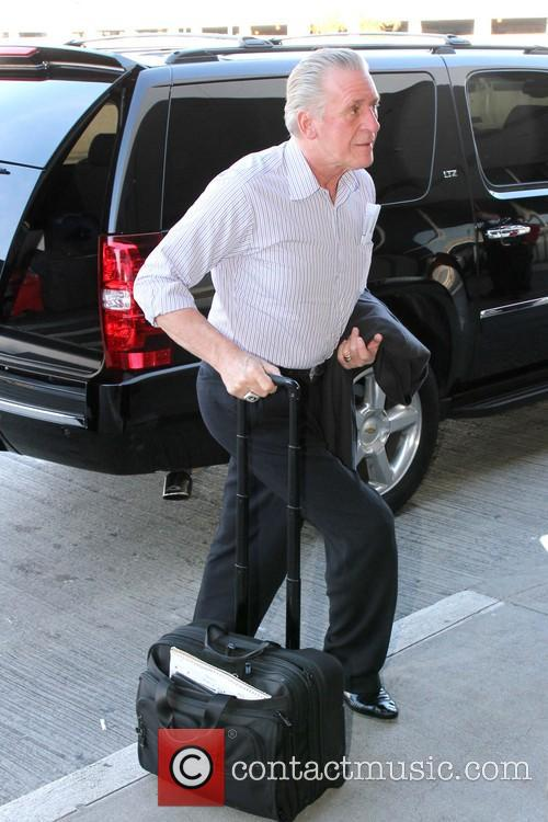 Pat Riley Pat Riley arrives at Los Angeles...