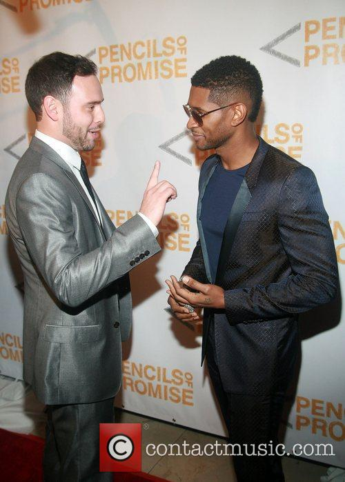 Adam Braun and Usher  Second Annual Pencils...