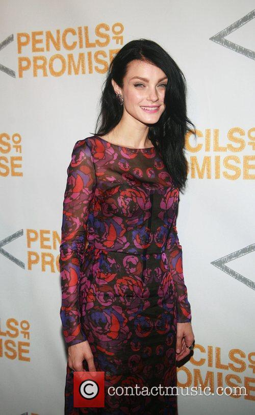 Jessica Stam  Second Annual Pencils Of Promise...