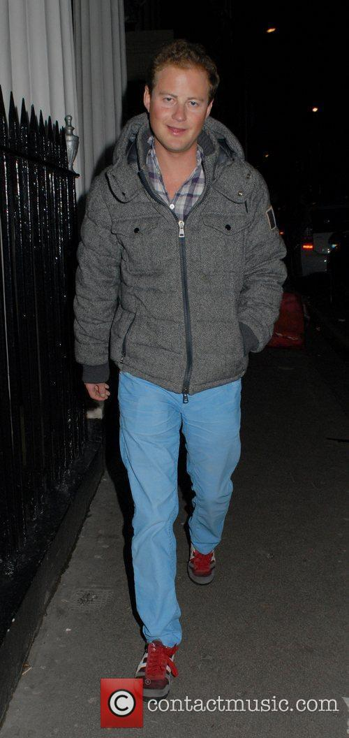 Guy Pelly leaving The Arts Club in Mayfair...